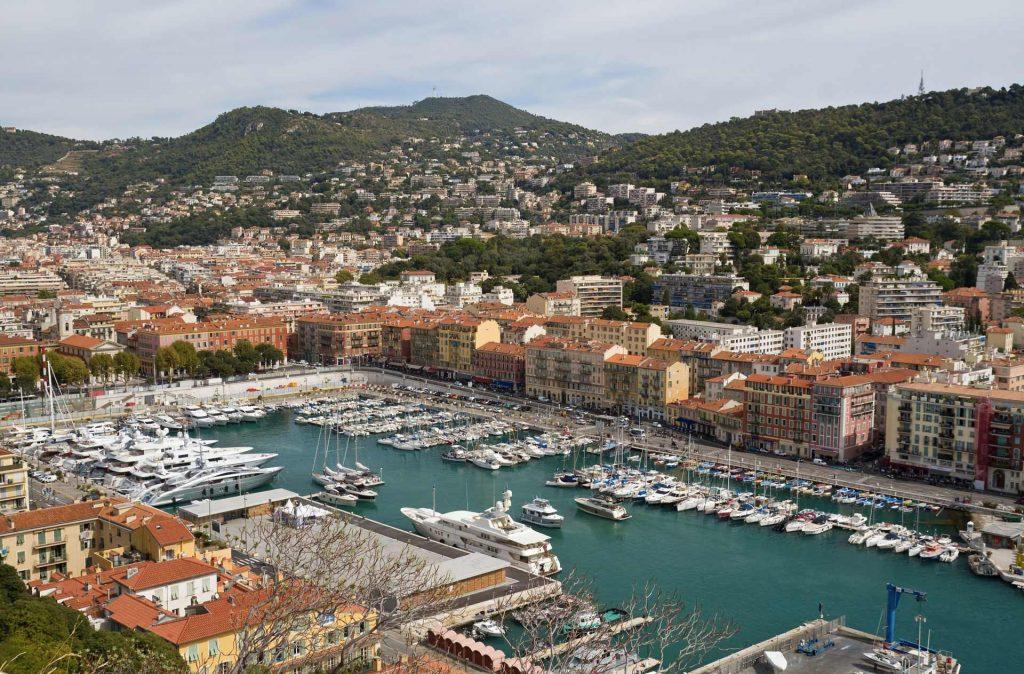 Port de Nice Cap Horizon Location bateau Semi-Rigide Capelli